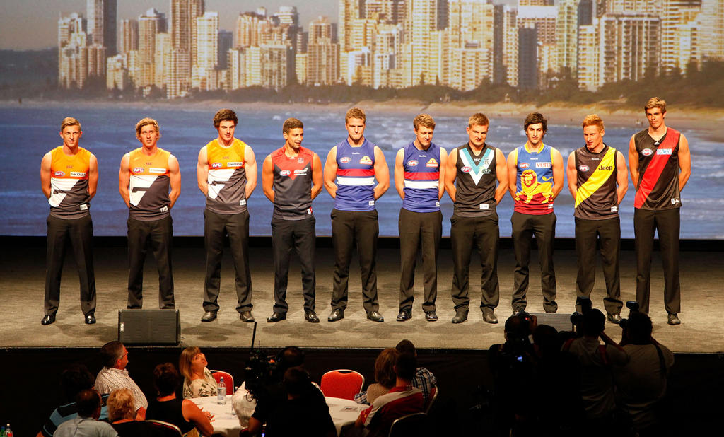 2012 AFL Draft Round Up