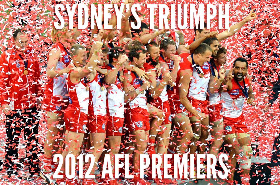 Congratulations Sydney Swans(Video)