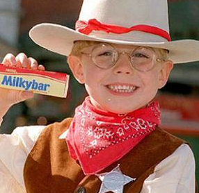 Milky Bar kid