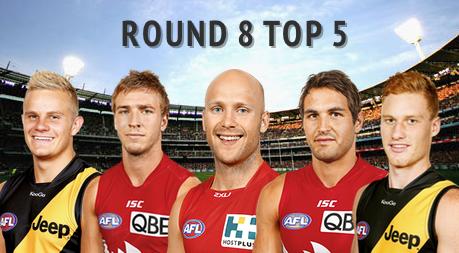 Round 8 Top 5